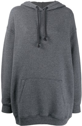 Acne Studios Logo Patch Oversized Hoodie