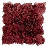 Pier 1 Imports Mini Rosette Pillow - Cabernet
