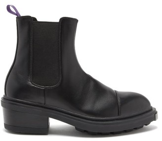 Eytys Nikita Heeled Leather Chelsea Boots - Black