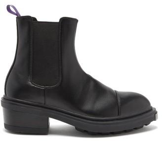 Eytys Nikita Heeled Leather Chelsea Boots - Mens - Black