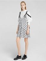 Calvin Klein Macro Dot Silk Dress