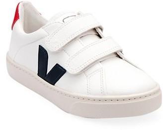 Veja Baby's, Little Kid's & Kid's V-Logo Cotton Grip-Tape Sneakers