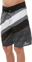 Rip Curl Kids Boys Comp Stripe 16 Boardshort Black