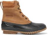 Sorel Cheyanne Waterproof Suede and Rubber Boots