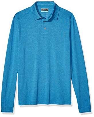 PGA TOUR Men's Long Sleeve Polo Shirt