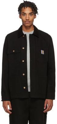 Carhartt Work In Progress Black Michigan Coat