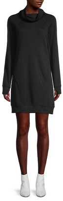 Andrew Marc Long-Sleeve Sweater Dress