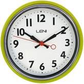 Leni Essential Wall Clock, 22cm, Hanoi Lemon