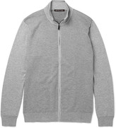 Michael Kors - Knitted Cotton Zip-up Cardigan