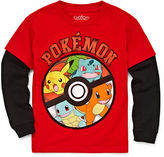 Pokemon Pokmon Long-Sleeve Pokball Tee - Preschool Boys 4-7