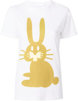 Peter Jensen rabbit T-shirt - women - Cotton - XS