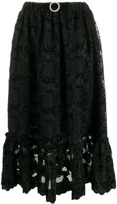 Shrimps lace skirt