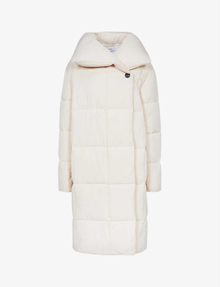 Reiss Isadora padded shell-down coat