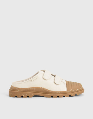Charles & Keith Summer 2020 Responsible Collection: Velcro Strap Sneaker Mules