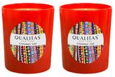 Qualitas Candles Cinnamon Leaf Beeswax Candles (Set of 2) (6.5 OZ)