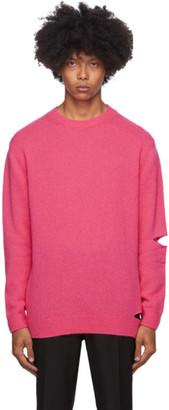 Stella McCartney Pink Crewneck Sweater