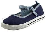 Carter's Mollie 2 Youth Round Toe Canvas Blue Mary Janes.