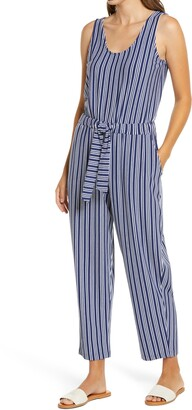Vineyard Vines Cat Cay Stripe Knit Jumpsuit
