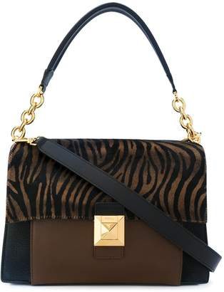 Furla Mimi animal-print bag