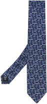 Ermenegildo Zegna patterned tie - men - Silk - One Size