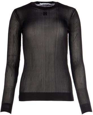 Givenchy Pleated Long Sleeves Top
