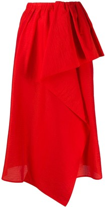 Christian Wijnants Asymmetric Ruffle Skirt