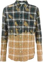 Faith Connexion checked shirt - men - Cotton/Spandex/Elastane - XS