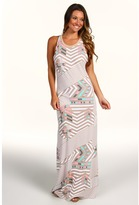 Volcom - Unusual Weather Maxi Dress (Sand Brown) - Apparel