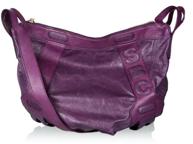 Thumbnail for your product : See by Chloe Purple SBC Shoulder Cross Body Bag