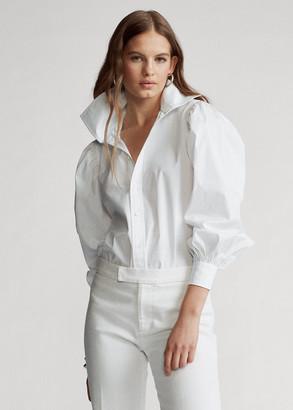 Ralph Lauren Oversize Cotton Broadcloth Shirt
