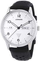 Junkers Men's Quartz Watch Analogue XL Leather 69441 38 G
