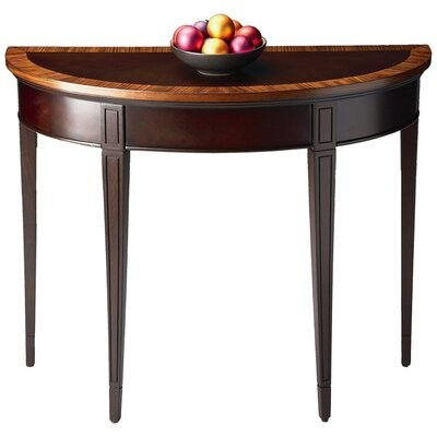 """Thumbnail for your product : Butler Cherry Nouveau 36"""" Solid Wood Console Table Color: Plantation Cherry"""