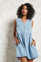Forever 21 Denim A-Line Dress