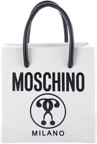 Moschino Small Logo-Print Shopping Tote