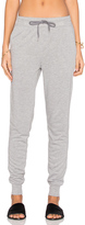 Alexander Wang Enzyme Washed French Terry Sweatpant