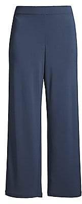 Lafayette 148 New York Women's Riverside Matte Jersey Cropped Pants