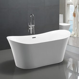 "vanityart 67"" x 29"" Freestanding Soaking Bathtub"