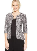 Alex Evenings Lace Peplum Jacket
