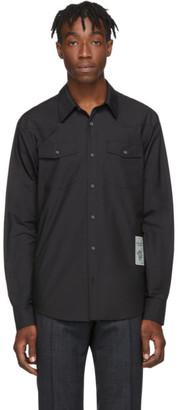 Tiger of Sweden SSENSE Exclusive Black Nafve Shirt