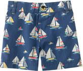 Cath Kidston Boats & Buoys Baby Woven Shorts