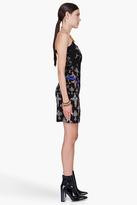 Versace Black Silk Cocktail Dress