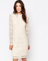 B.young High Neck Lace Dress