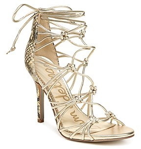 Sam Edelman Women's Adella Knotted Strappy High Heel Sandals