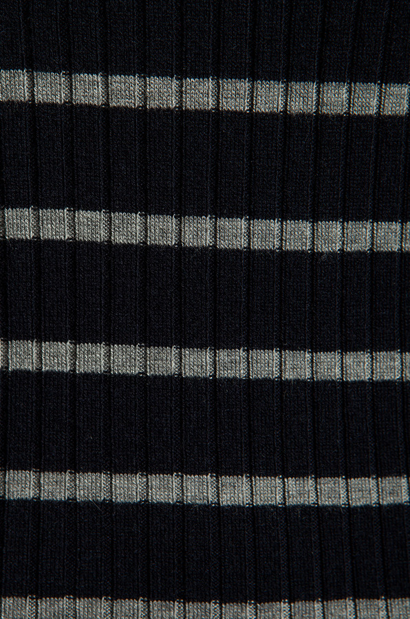 Vince Striped Long Sleeve Crew