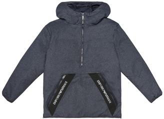 Emporio Armani Kids Down hooded jacket