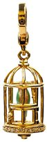 Juicy Couture Bird Cage Charm - Gold Plated Lobster Claw Clasp