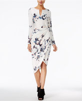 GUESS Kadia Printed Asymmetrical Dress
