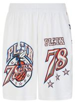 Philipp Plein Printed Piqué Basketball Shorts