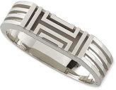 Tory Burch Rhodium-Plated Fitbit-Case Bracelet