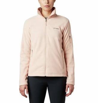 Columbia Womens Fast Trek II Fleece Jacket Soft Fleece Classic Fit